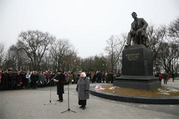 29 января у памятника А.П. Чехову