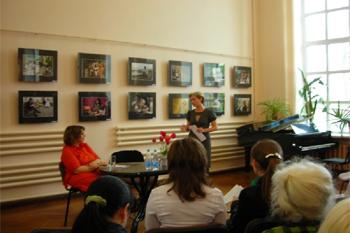 В городской публичной библиотеке им. А.П. Чехова