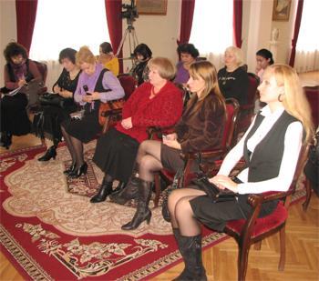 ЦИТЧ на конференции (В. Гаврилова, О.А. Яковлева, Е.В. Секачева и другие)