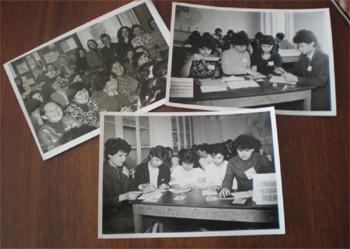 Студенты национального отделения на занятиях и конференциях