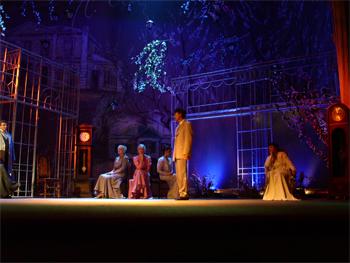 Сцена из спектакля «Последняя страница»