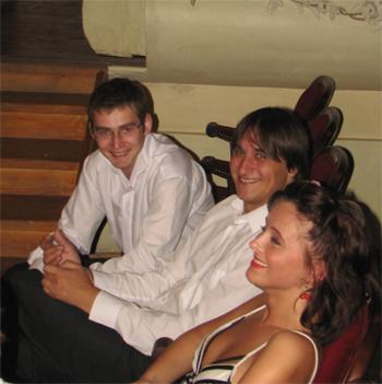Молодые актеры Санкт-Петербургского университета