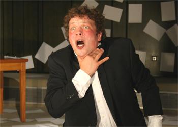 Записки сумасшедшего», «Государственный театр г. Карлсруе» (Badisches Staatstheater Karlsruhe), 2010г., Тилл Флориан Байербах (Till Florian Beyerbach)