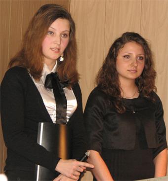 Е. Солуянова и К. Контонистова
