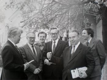 В.Д. Седегов, М.Т. Пинаев, В.И. Самусенко, В.К. Гайдук, А.Ф. Захаркин, А.И. Иванов