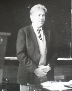 В.Д. Седегов на открытии «Чеховских чтений»