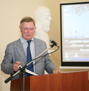 Выступление В.Б. Катаева