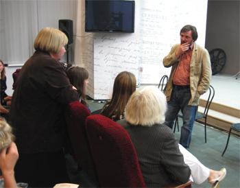Творческая встреча ЦИТЧ с коллективом театра «Чеховская студия»