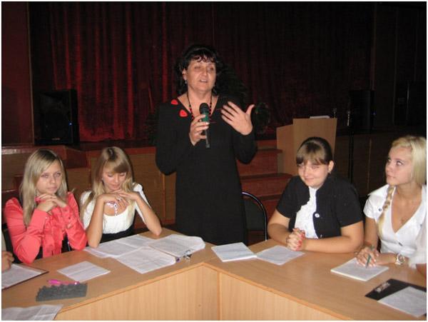 Мастер – класс провела учитель русского языка и литературы высшей квалификационной категории Авдеева Г.В.