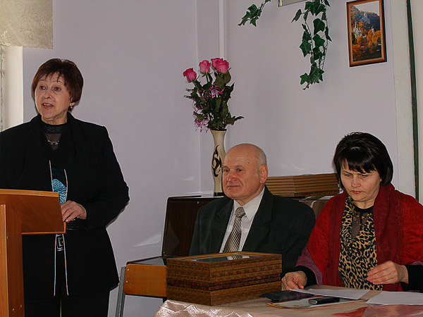 Выступление А. В. Тихоненко на секционном заседании