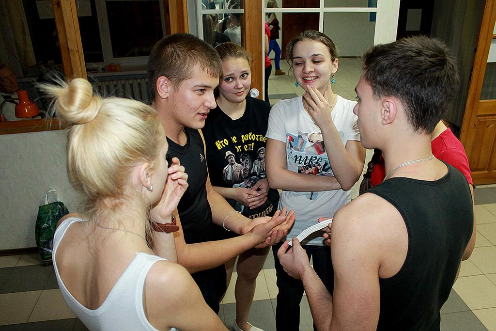 Веселые конкурсы для студентов в общежитии